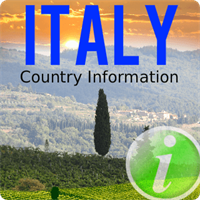 Italy Country Information