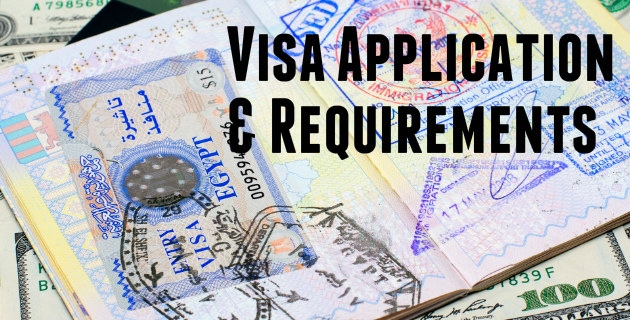 Visa apllication travelwithus